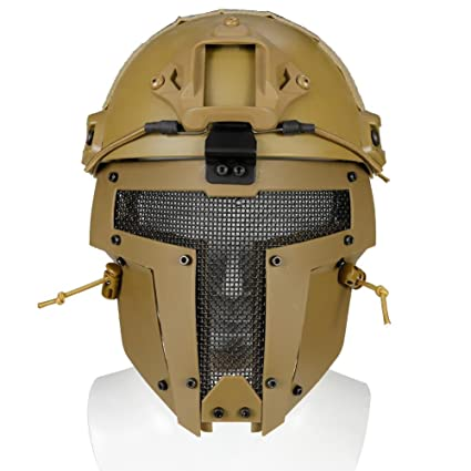 Starter Spartan tactical mask - Protective Mask Gear for Use As Tactical Mask & Airsoft and