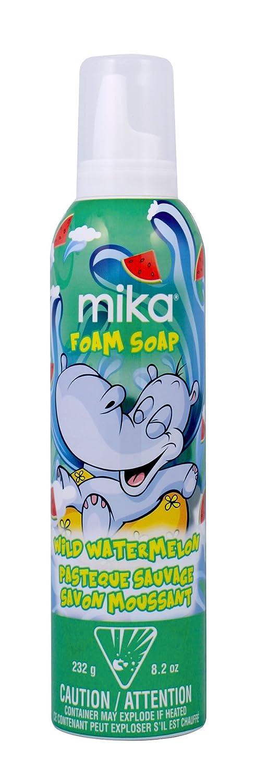 mika Wild Watermelon Foam Soap, 8.2 Oz 14006