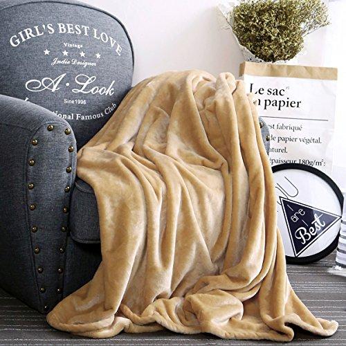 Qbedding Microplush Blanket Microfiber Chestnut product image