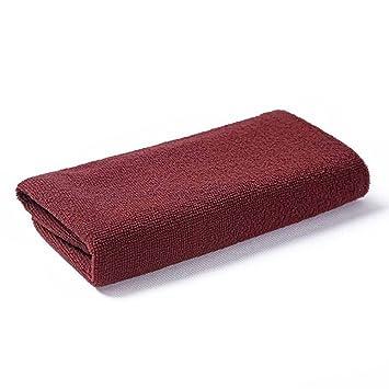 OUNONA Secador absorbente de secado rápido Toallas Toallas Gimnasio Toalla de mano Máxima suavidad 35 x 75 cm (Marrón): Amazon.es: Hogar
