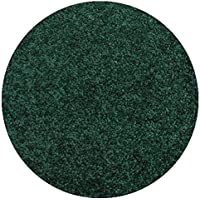 Area Rug Carpet. EMERALD FORREST GREEN 30 oz. ½ Thick. 100% Polyester fiber, Medium Density, Soft and Durable. MULTIPLE SIZES, SHAPES and Brilliant Colors.
