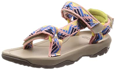 3d5f6884da15 Teva Girls  T Hurricane XLT 2 Sport Sandal Boomerang Apricot Blush 6 Medium  US Toddler