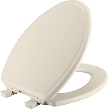 Bemis Mayfair 148E2 000 Elongated White Slow Whisper Close No Slam Toilet Seat