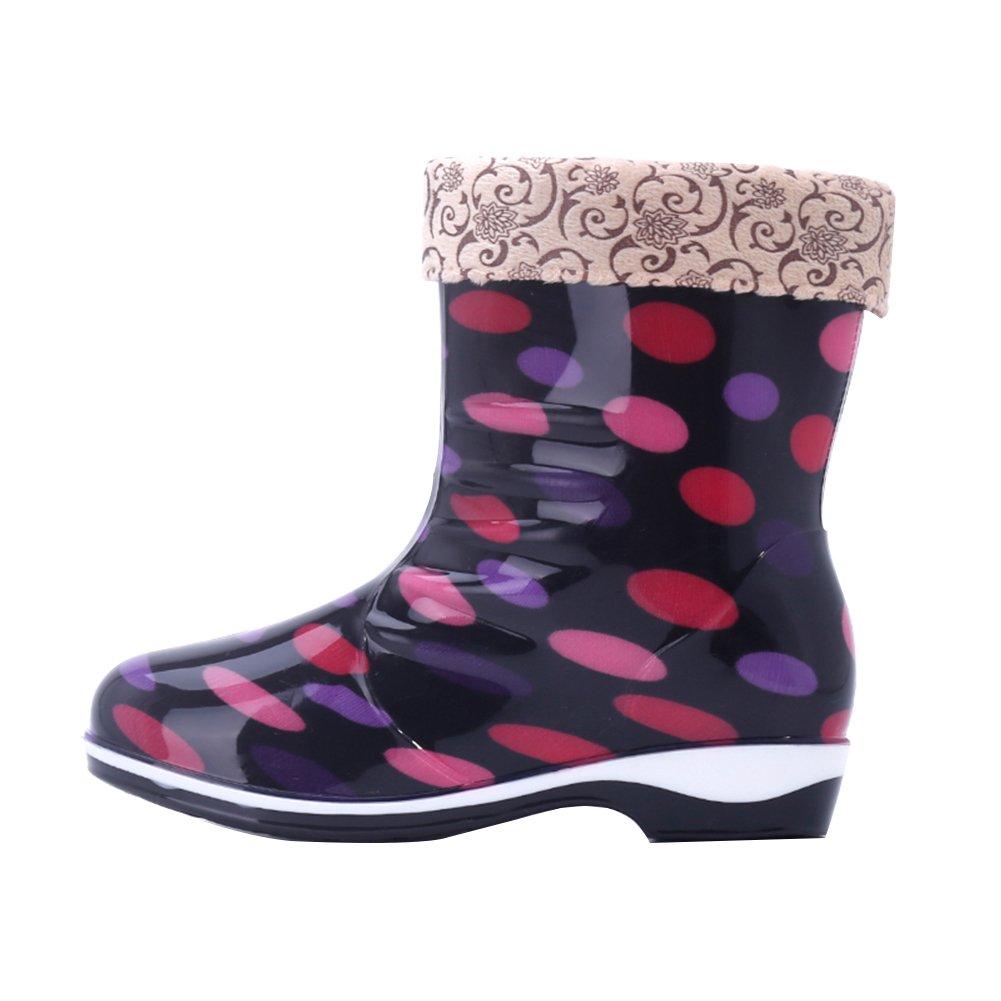 Botas de Lluvia Mujer,Botas de Caucho,Ligera Botas de Agua: Amazon.es: Zapatos y complementos