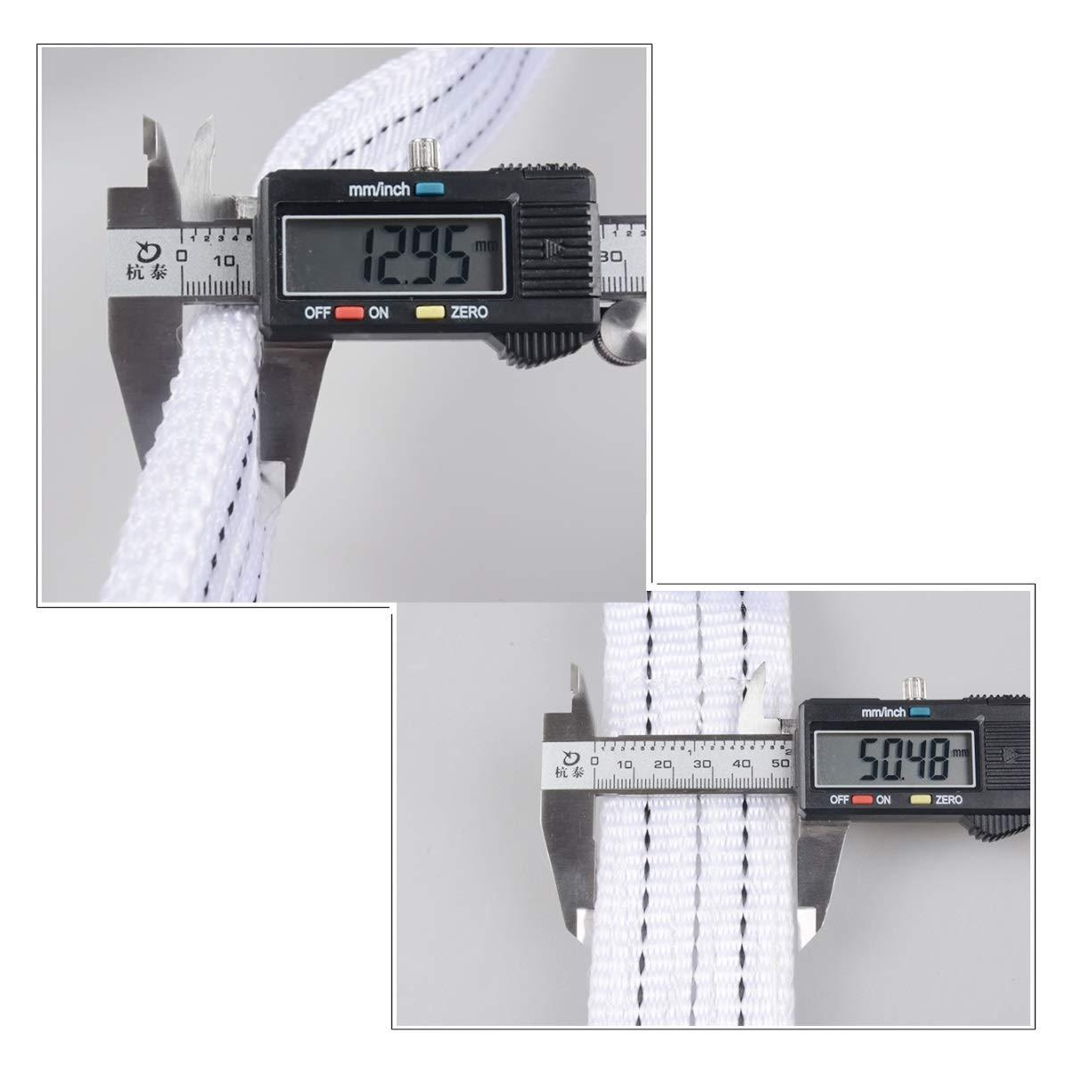 2 Sicherheitshaken Reflexstreifen Nylon-Abschleppseil 5 M // 6 T Schwerlast-Zugseil Fehlerbehebung und Traktion Penigoter Abschleppseil