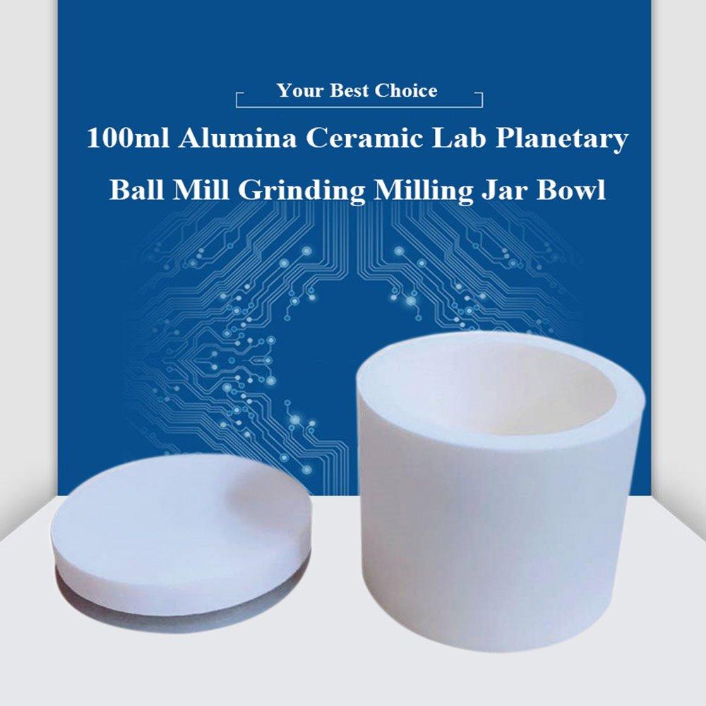 Alumina Ceramic Lab Planetary Ball Mill Grinding Jar (100ml)