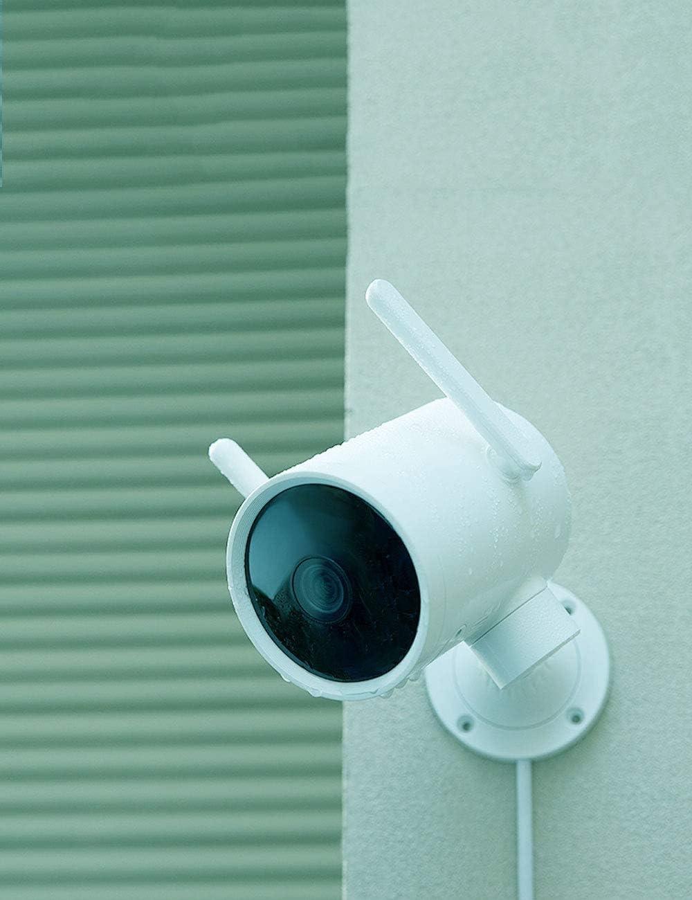 visione notturna avanzata Vista a 270 gradi Hotspot integrato IMILAB EC3 Telecamera di sicurezza per esterni 3MP IP66 impermeabile con rilevamento umano