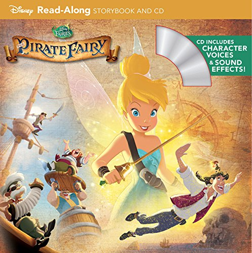 [Tinker Bell and the Pirate Fairy Read-Along Storybook and CD] (Tinkerbell Pirate)