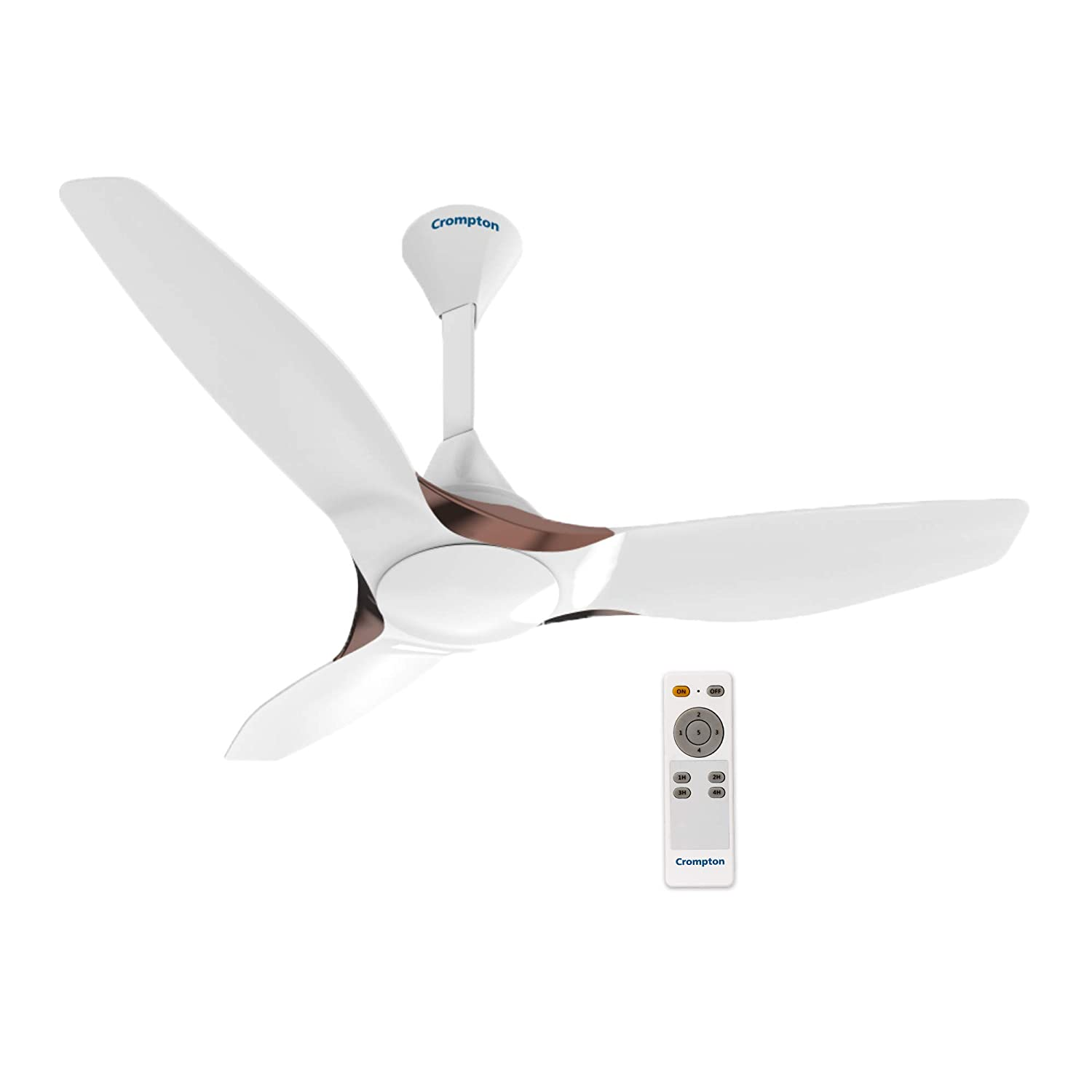 Crompton Silent Pro Enso 1225 Mm 48 Inch Activbldc Remote Controlled Ceiling Fan Silk White Amazon In Home Improvement