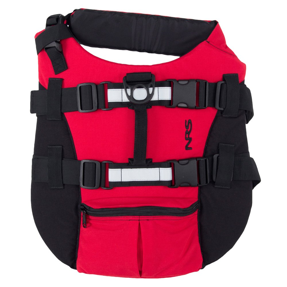NRS CFD - Dog Life Jacket Red Large by NRS