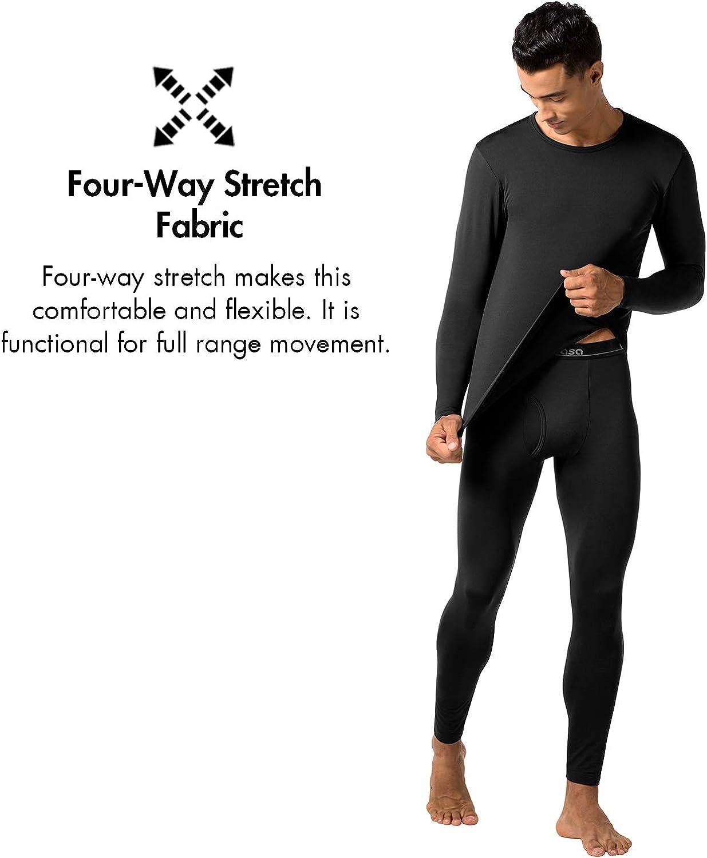 Intimo Maniche Lunghe Invernale Lightweight M09 Ti Tiene al Caldo Senza Stress LAPASA Uomo T-Shirt Termica Pacco da 2 o 1