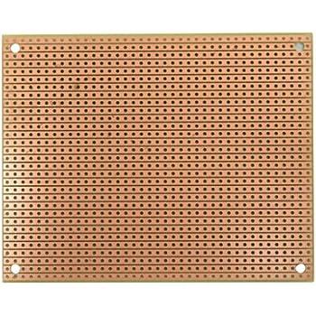 Amazon com: ST3U StripBoard-3U, Uncut Strips, 1 Sided PCB, 3 94 x