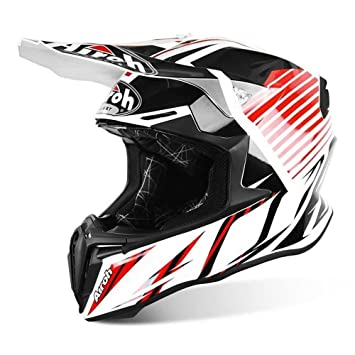 Airoh - Casco de motocross Twist con visera ajustable Small STRANGE