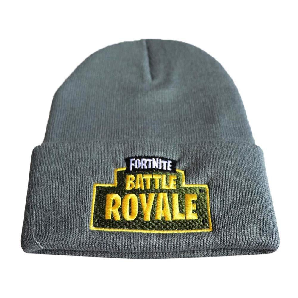 Fortnite Big Escape to Kill Knit Cap Winter Thick Soft Warm Warmer Winters Hat Unisex Hats, 10 WZP