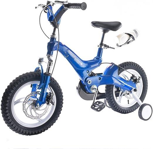 JIANPING Niños 3-8 Años De Edad Telescópica Bicicleta Bicicleta ...
