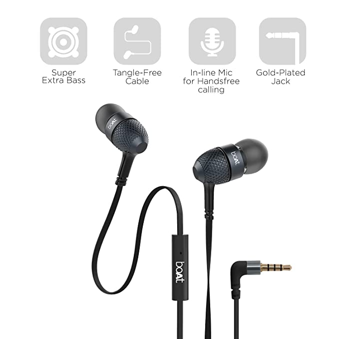 boat bassheads 225 in-ear super extra bass headphones: amazon in:  electronics