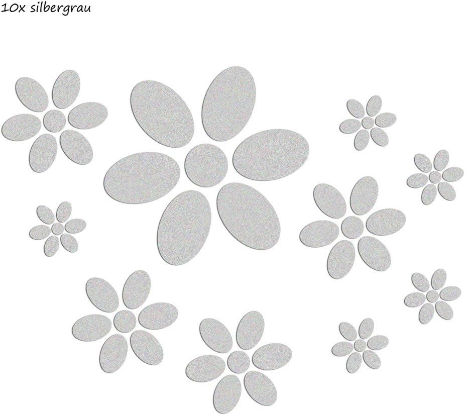 20/Mini schm etterlinge Pegatinas para Thermomix TM5/ /Flor Mar Gris Antracita