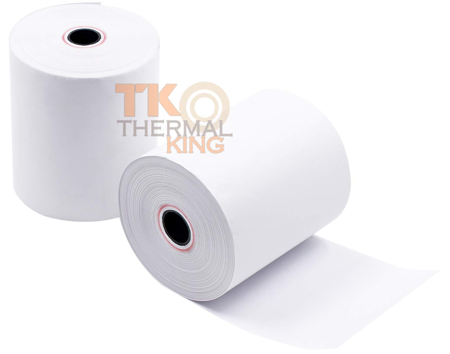 Thermal King, 3 1/8'' x 230' 30 Rolls Point-of-Sale Cash Register Thermal Paper Rolls, CT-S300 by Thermal King