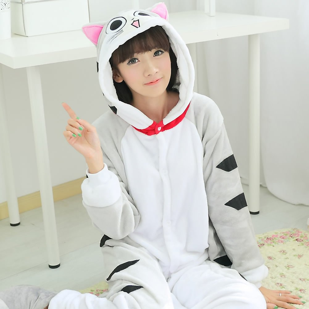 Keral Pikachu Pyjama Cospaly Party Fleece Costume Adulte Unisexe