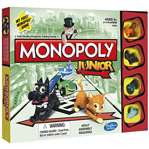Hasbro Com Monopoly - Hasbro Monopoly Junior Board Game