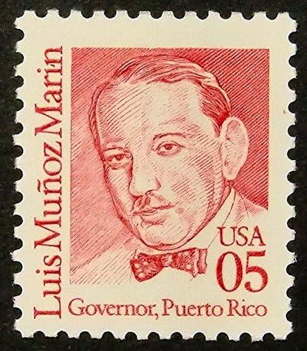 Luis Munoz Marin Governor, Puerto Rico Estados Unidos – enmarcado sello de correos Art 14286: Amazon.es: Hogar