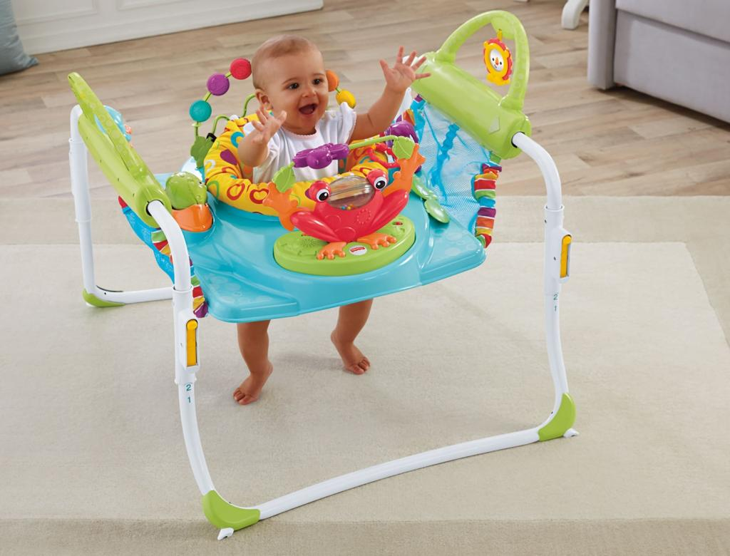 Amazon.com : Fisher-Price First Steps Jumperoo : Baby