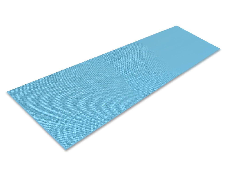 シンエイテクノ ダイヤロングマット(すべり止めマット) ブルー 2m B06WLNKNQ3 2.0m ブルー ブルー 2.0m