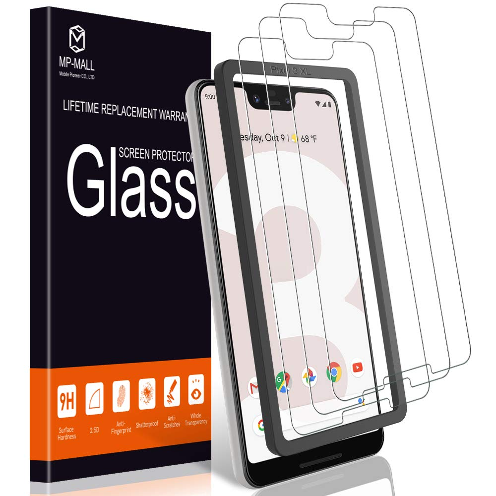 Vidrio Templado Para Google Pixel 3 Xl [3 Un.] MP-MALL