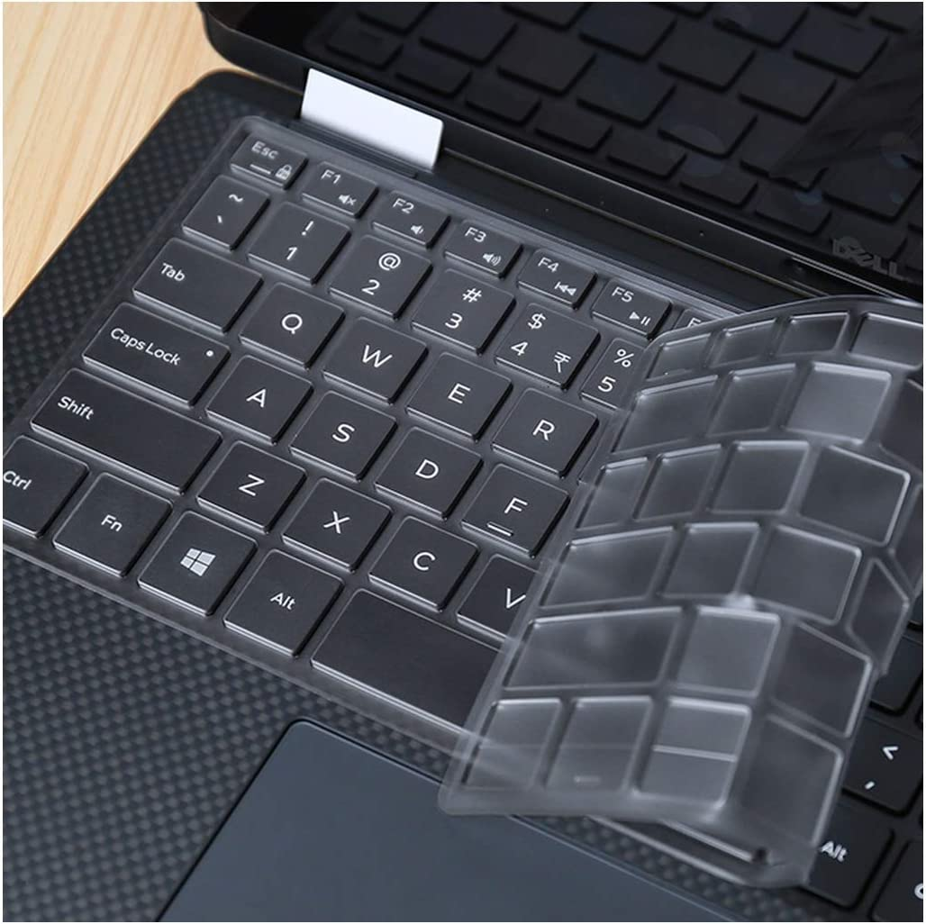 """for DELL XPS 9365 13 9370 13 9343 13 9360 9350 13.3 inch/XPS 15 9570 15.6"""" Keyboard Cover TPU Laptop Keyboard Protector Skin,for XPS 13 9360"""