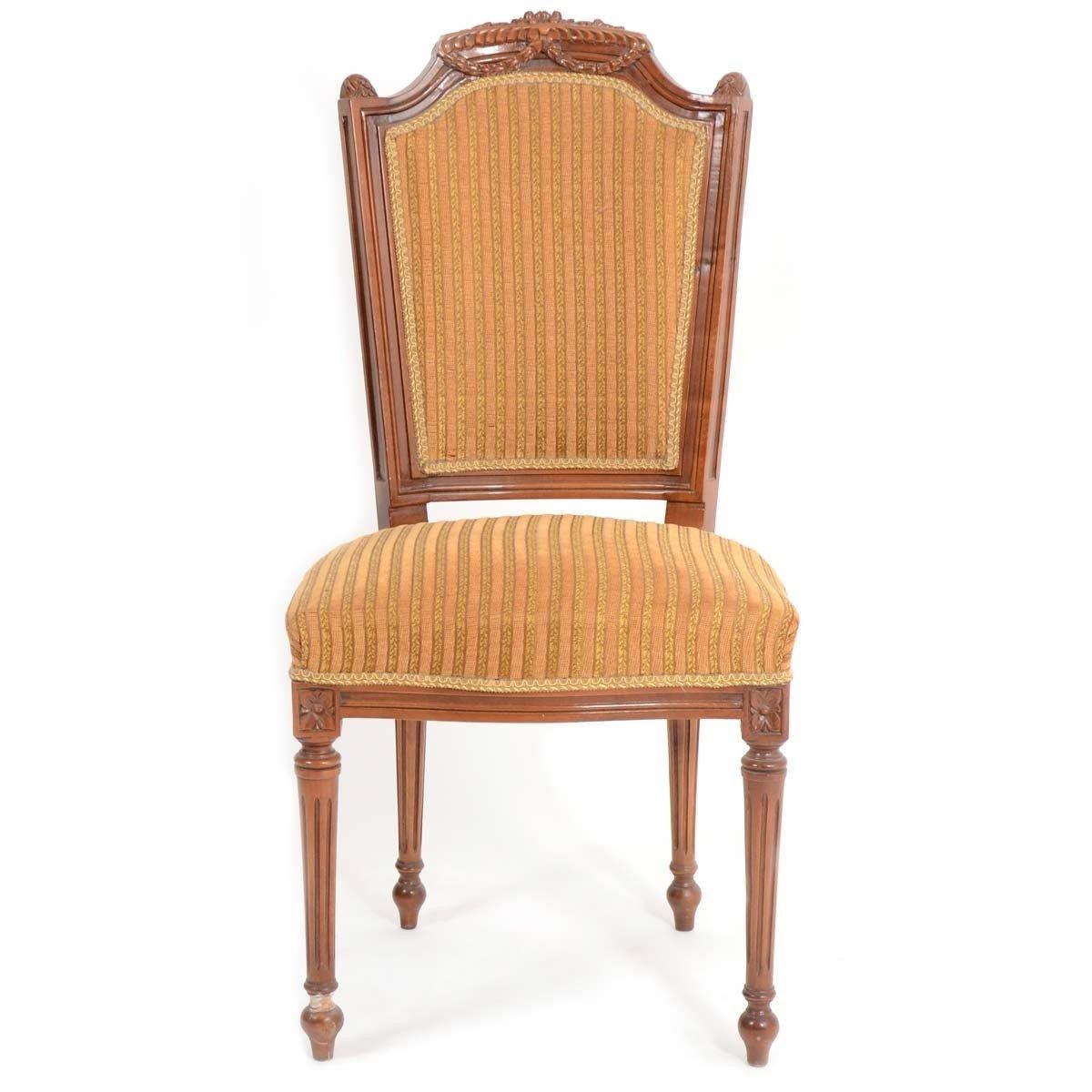 Stuhl - Stil Antik | Barock | Rokkoko | Louis XV / XVI | Klassische | Handgefertigt | Massivholz