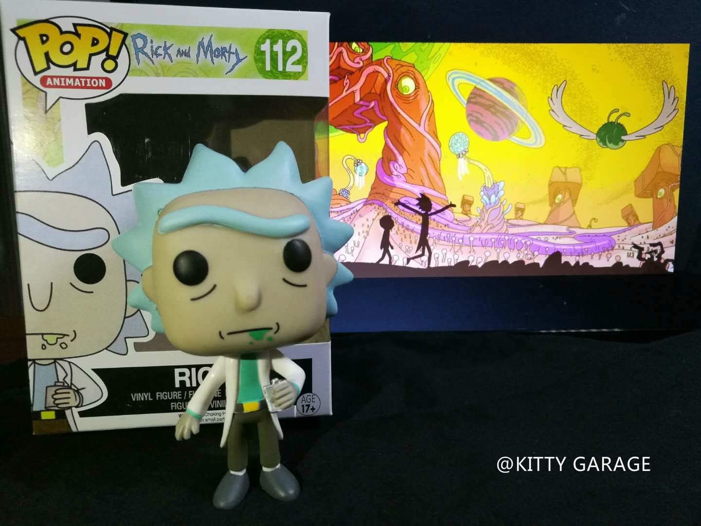Funko - POP! Vinilo Colección Rick & Morty - Figura Rick (9015)
