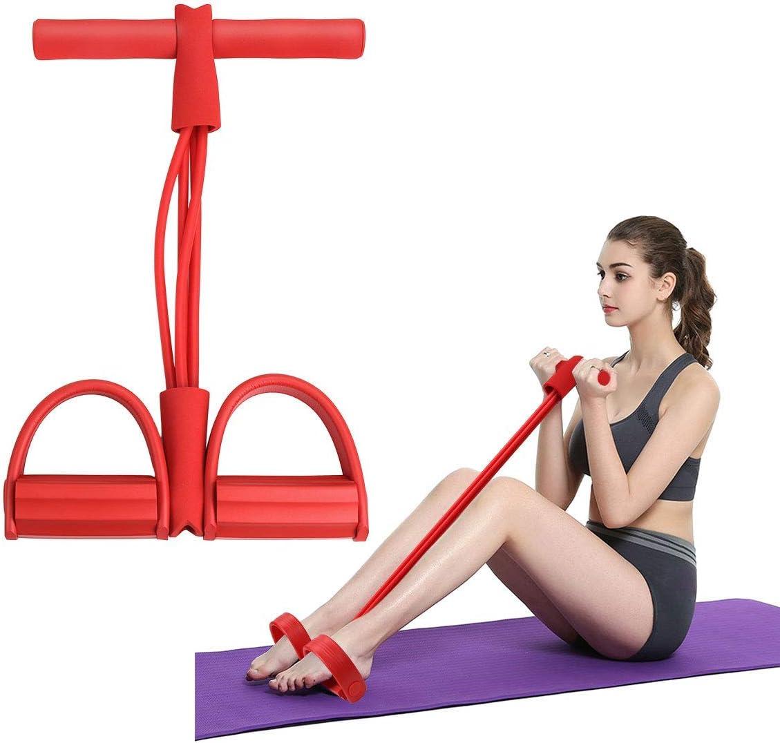 Estiramiento de piernas estiradas más jóvenes con Yoga Banda de Estiramiento Ai Yujia Lajin Asistente de aplicación de Yoga con Cuerda