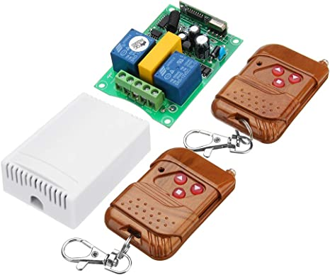 New 2CH 12V Wireless ON//OFF Switch Infrared Remote Control Module IR Receiver