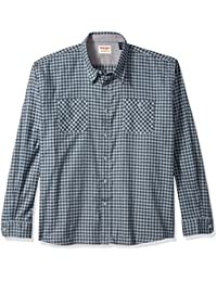 Men's Big and Tall Authentics Long Sleeve Flannel Shirt