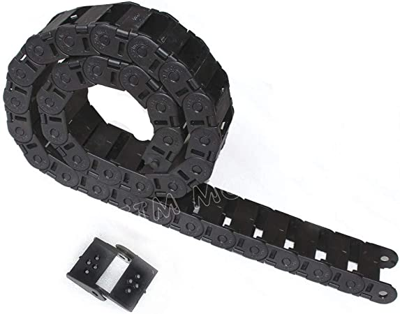 1000mm Size 15 x 30 mm Cable Drag Chain Radius 48mm Wire Carrier 15*30