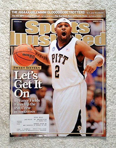 2009 Sports Illustrated Cover - Levance Fields - Pittsburgh Panthers - 2009 NCAA Tournament - Sweet Sixteen - Sports Illustrated - March 30, 2009 - College Basketball, March Madness - Regional Cover - SI