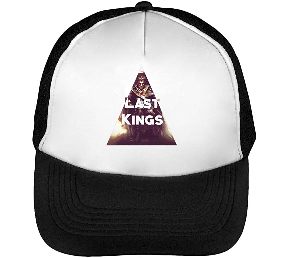 Last Kings Cool Phrases Mens Baseball Trucker Cap Hat Snapback ...