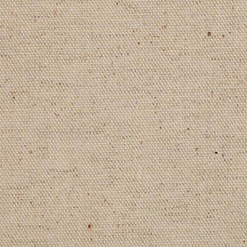 Undyed Linen - Raw Natural Cotton Canvas 58