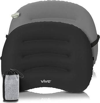 Amazon.com: Vive - Cojín hinchable con respaldo para coche ...