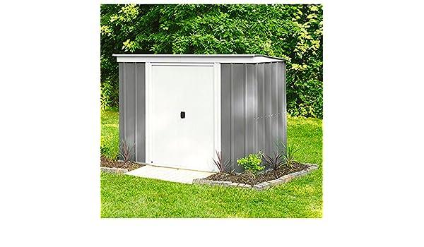 Arrow metal de dispositivo Casa PT 84 Jardín Casa Caseta 2, 74 m² gris: Amazon.es: Jardín