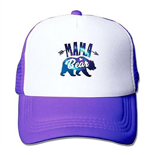 cdb0ef3e6fc Image Unavailable. Image not available for. Color  Mama Bear Adjustable  Unisex Snapback Baseball Caps ...