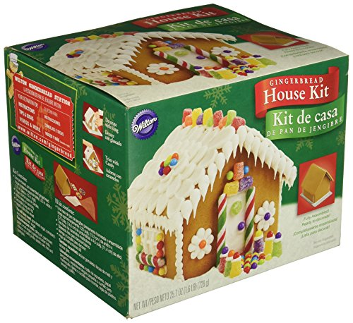 - Wilton Ready to Decorate Gingerbread House Decorating Kit (2104-1971)