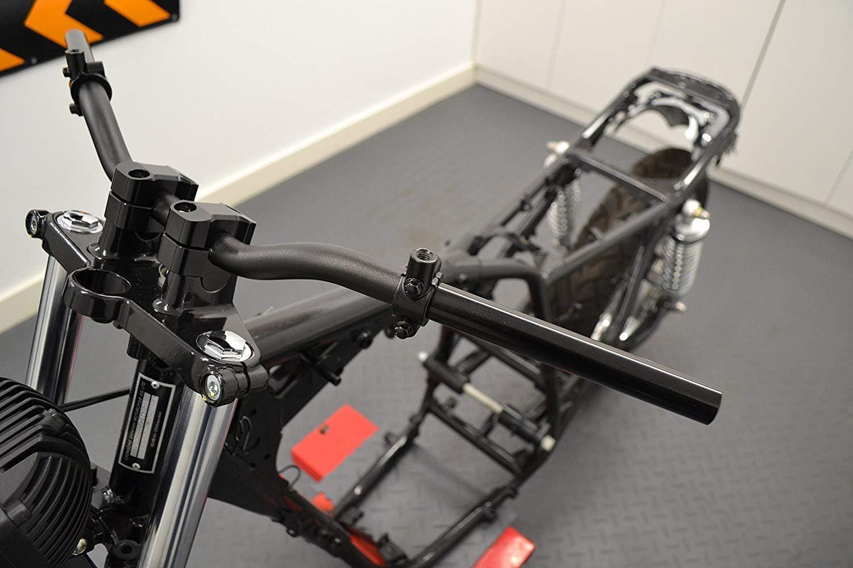 Moto Trike Miroir Supports Pinces pour 22mm Guidon M8 Sens Fil Paire