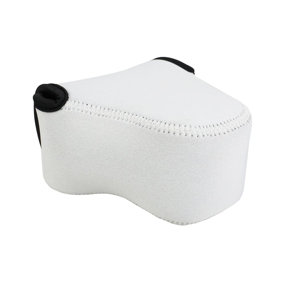 Jjc Camera Case Pouch For Canon Eos M100 M6 M10 M3 11 22mm 15 45mm Kit Kamera Mirrorless White