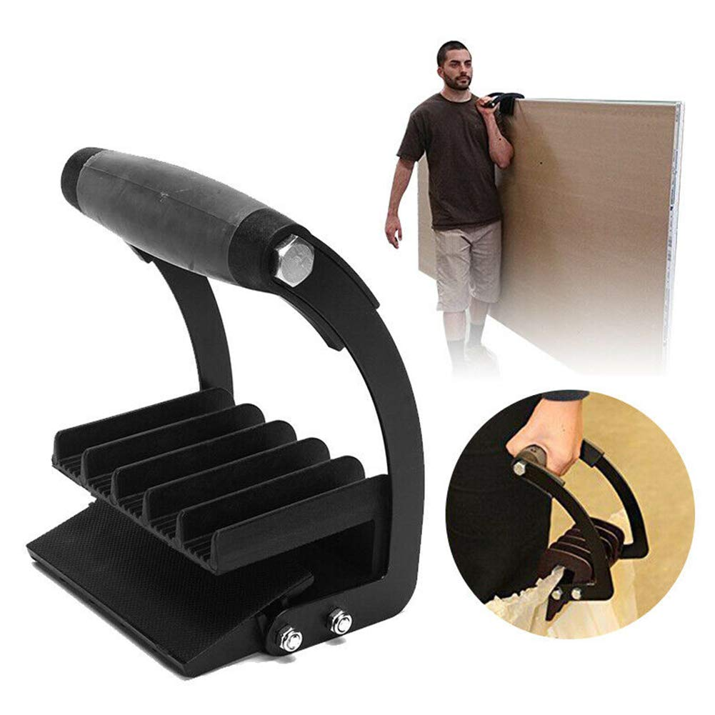 YiDing Portable Heavy Duty Metal Panel Gripper Handle Quick Grip Board Lifter Plywood Sheet Lifting Carrying Tool