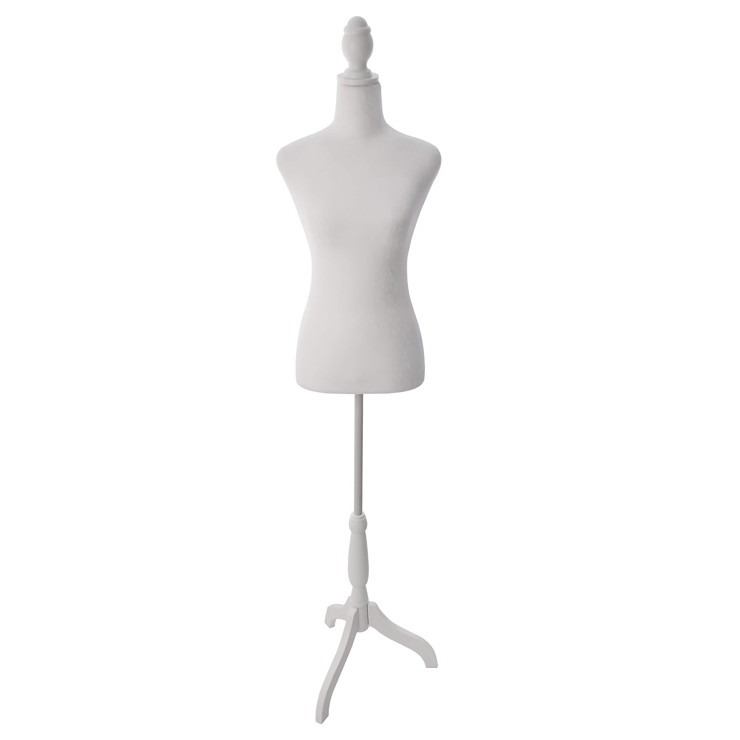 White Wood Tripod Dressmaker Form Base