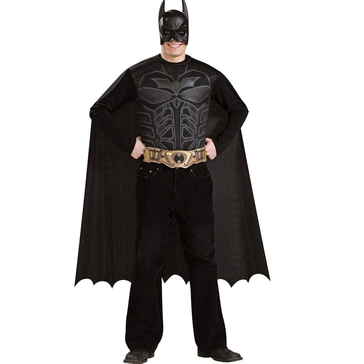Desconocido Set de disfraz de Batman para adulto: Amazon.es ...