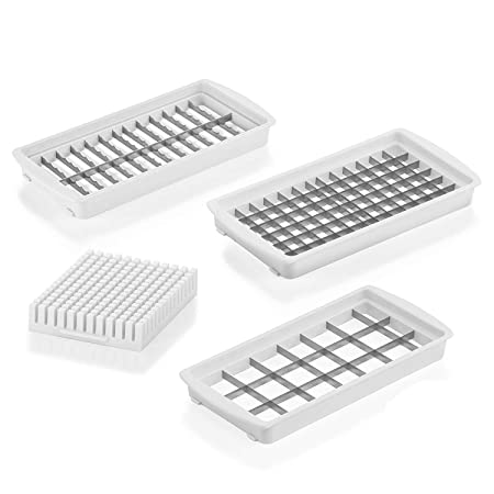 New XXL Fruit and Vegetable Chopper Blade Inserts Set 3/| as seen on TV Genius Nicer Dicer Magic Cube Smart