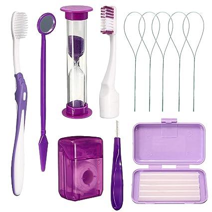 ZHQI 8 Unids/Set Dientes Dentales Kits de Ortodoncia Cuidado de ...