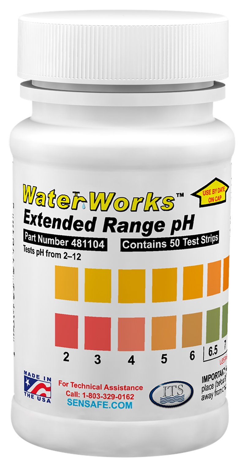 Industrial Test Systems 481104 WaterWorks pH Check by Industrial Test Systems